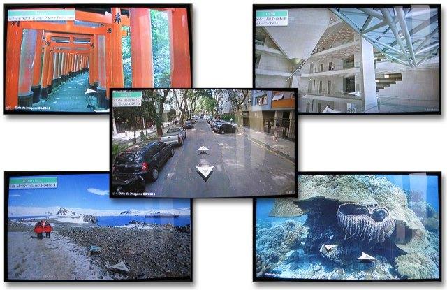 Wii Street U powered by Google