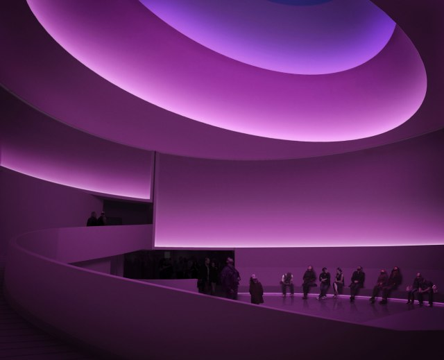 James Turrell - Rendering for Aten Reign, 2013