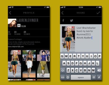 Figr, uma app de moda